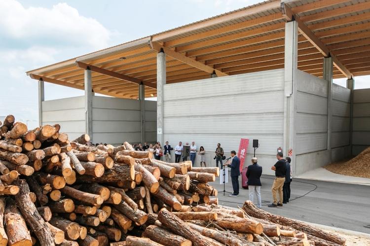 "Biomass Logistics Center with ""kilometer zero"" sliver in the Vallès"