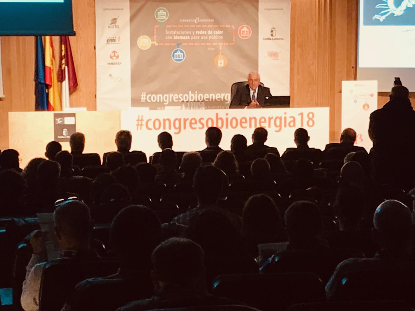 ouverture du congrès sur la bioénergie