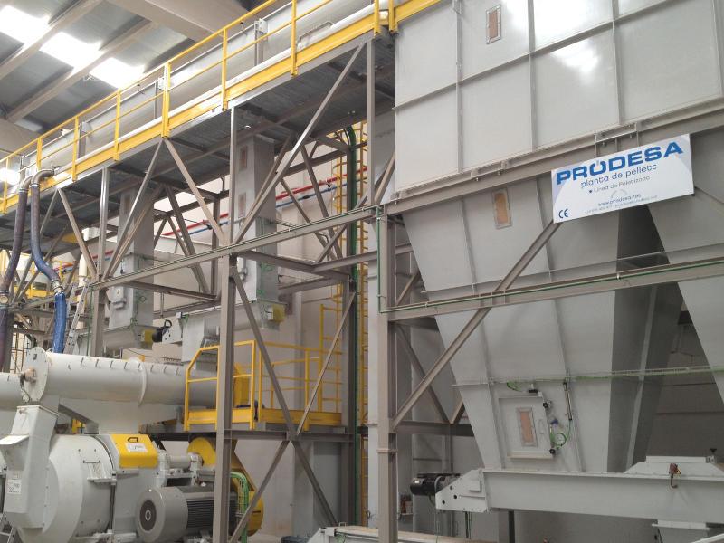 Impianto di pellet PRodesa