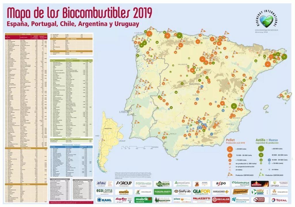 Carte du pellet 2019