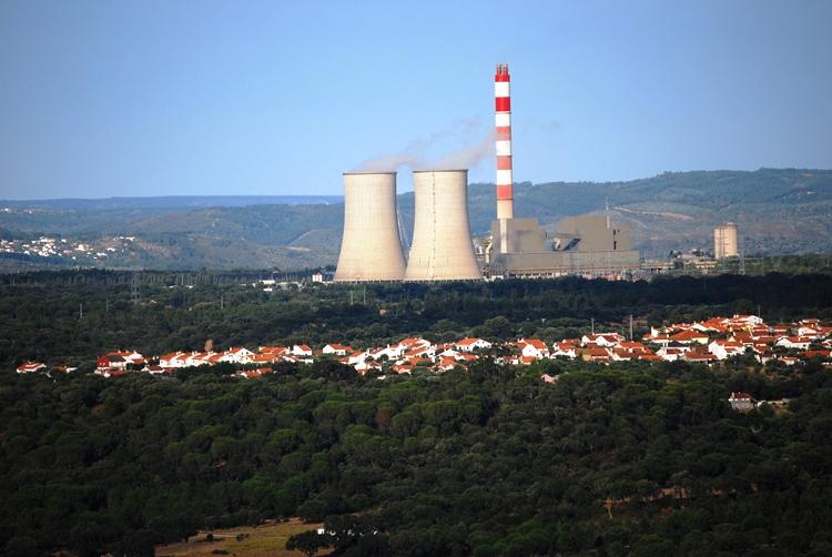 Usina de Carvão em Portugal