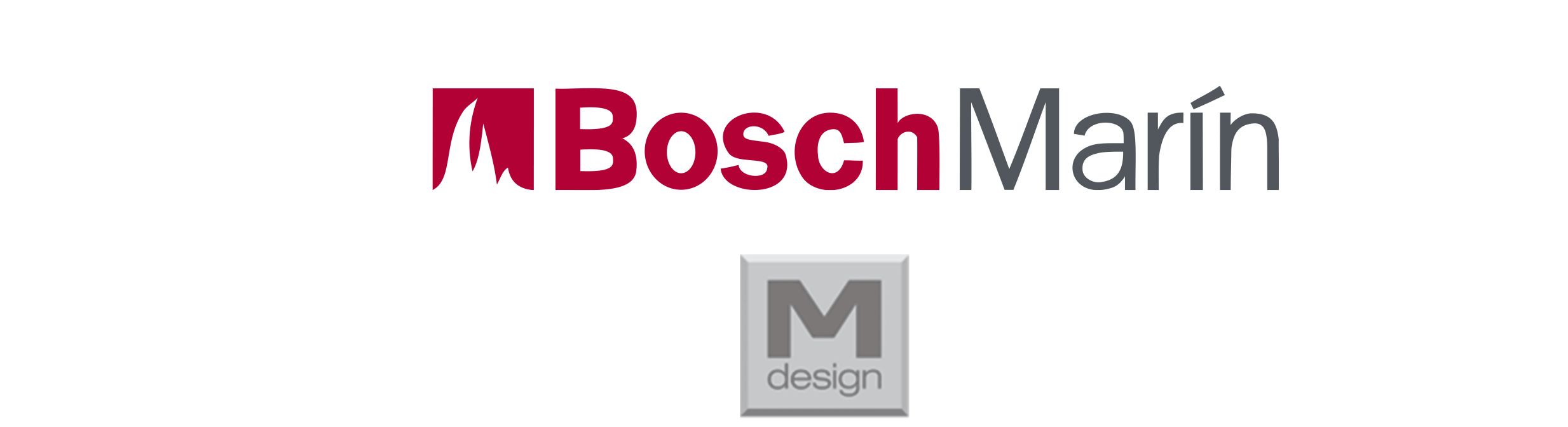 Logo Bosch Marin and MDesign