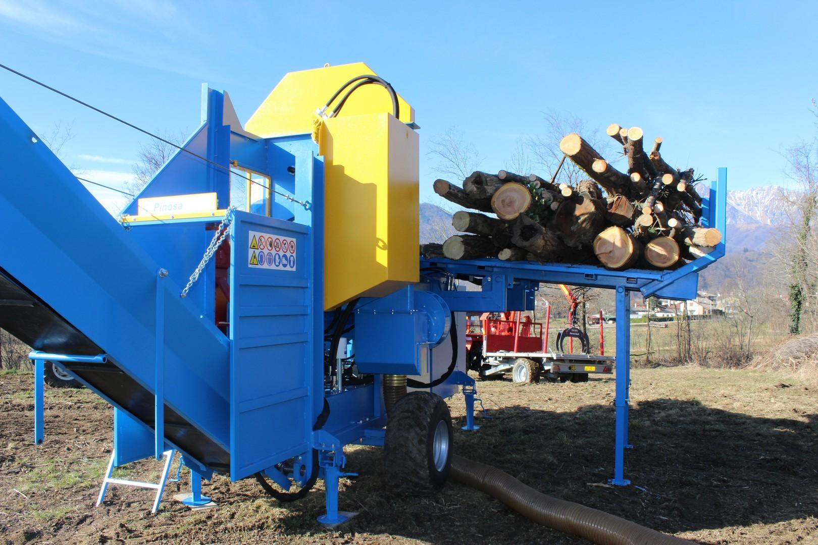 Processeur de bois de chauffage série CPE de Pinosa