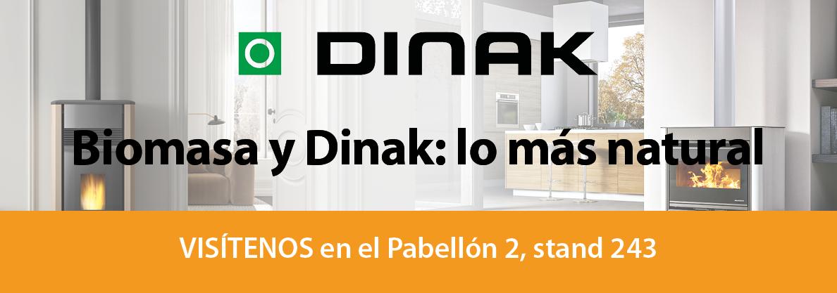 Dinak present in expobiomasa in stand 243