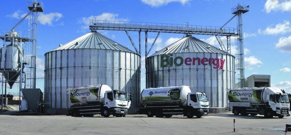 Silos de armazenamento de Bioenergy Barbero