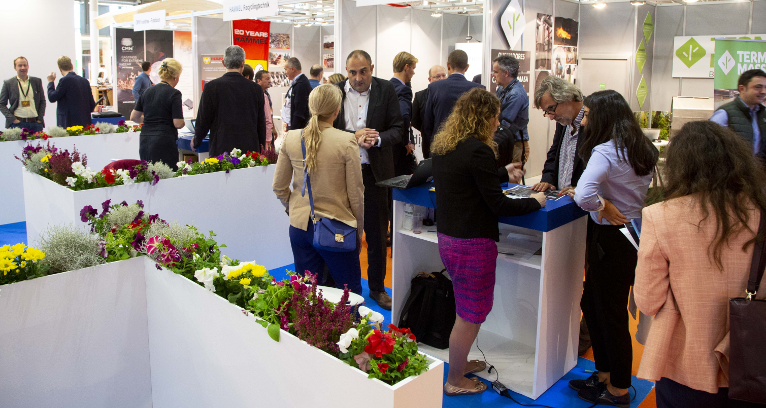 Meetings at finland stand
