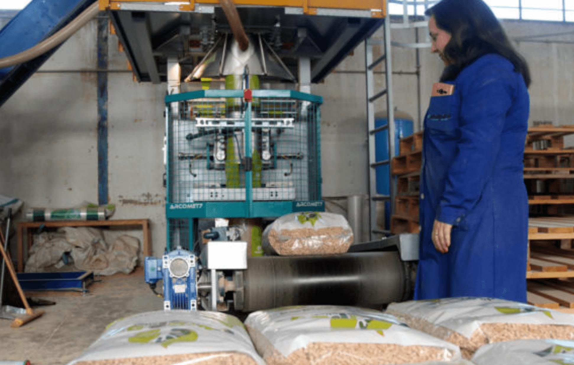 Ensacheuse de granulés Ortin