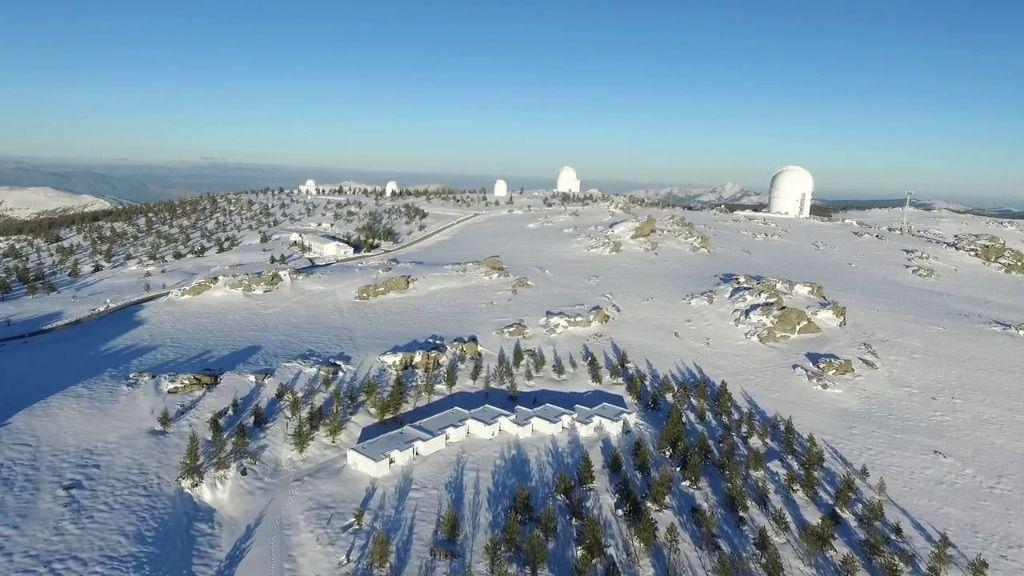 Snowy Calar Alto Observatorium