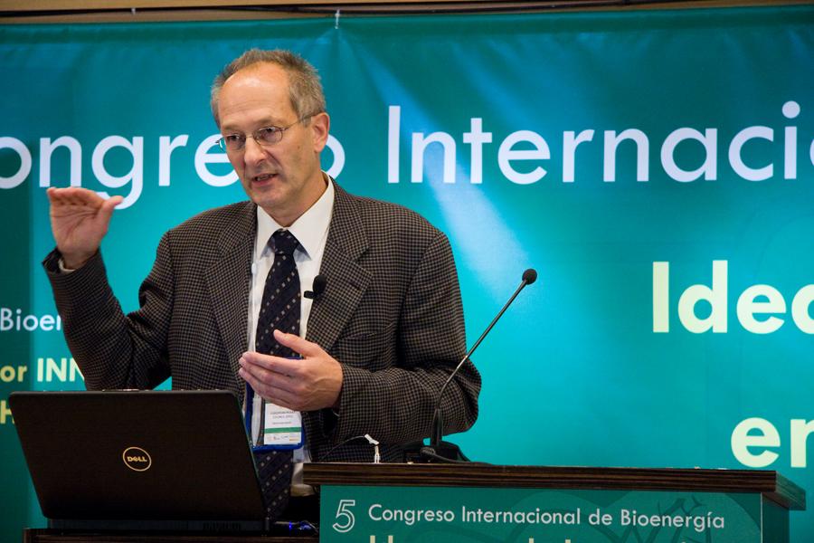 Christian Rakos, vincitore del premio Fomenta la Bioenergía 2020