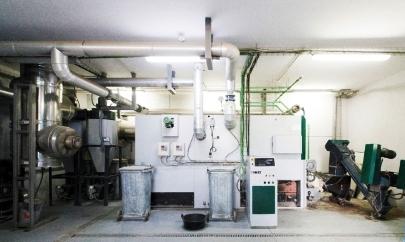 caldaia a biomassa herz