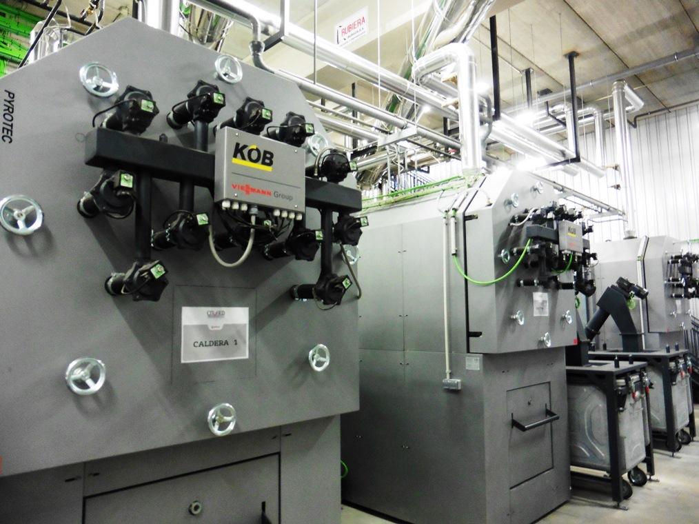 industrielle Biomasse